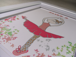 Rose Pereira Ballerina Art Print