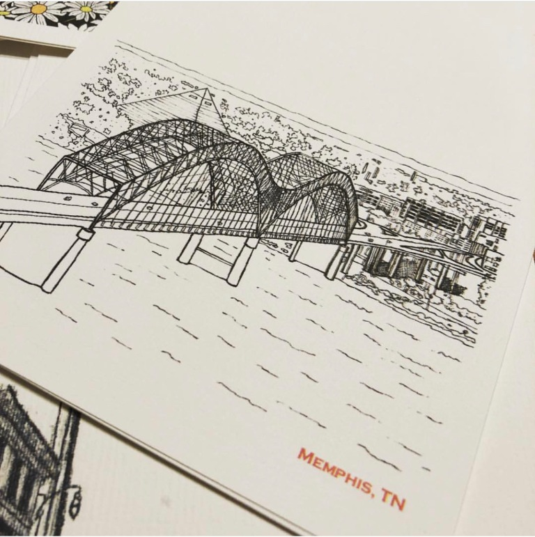 Rose Pereira Memphis Bridge
